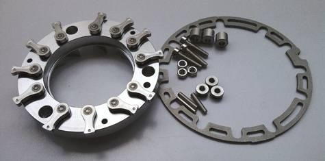 Turbocharger nozzle ring GT2052V GT2256V GT2556V