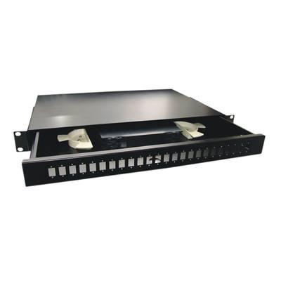 Fiber Optic SC 19 1U 24-port Patch Panel Drawer