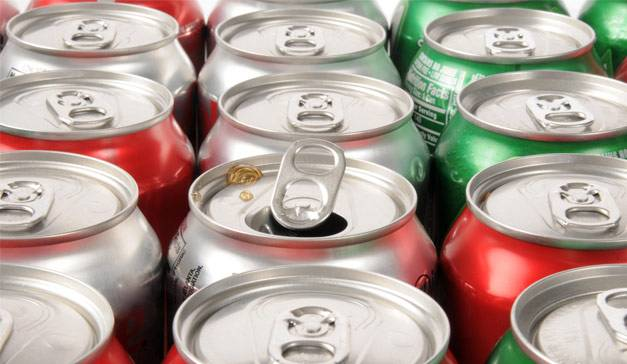 Canned Coca-Cola,Pepsi,Fanta,Miranda,Ice tea and other Carbonated soft drinks