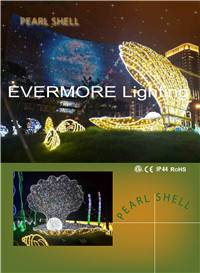 Motif lighting Pearl Shell