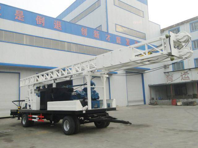 SWCT300SZ  Water Well Drilling Rig