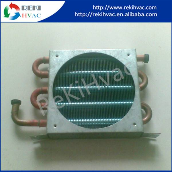 Copper and Aluminum Fin Evaporator / Condenser with Fan & Outer Casing RCF-18135