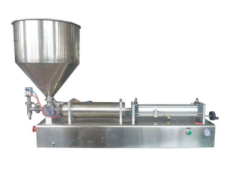Single nozzle paste filling machine(G1WG)