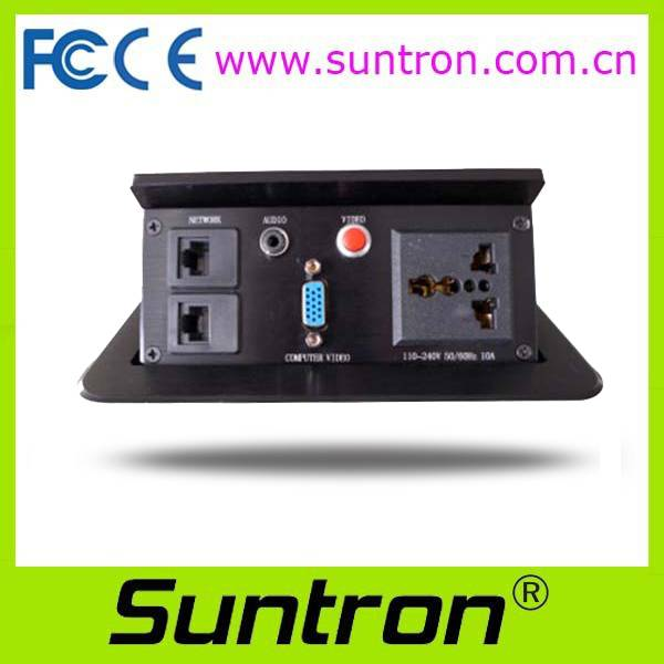Suntron SMT-1 Series Table Hidden Type Intelligent Receptacle Panel