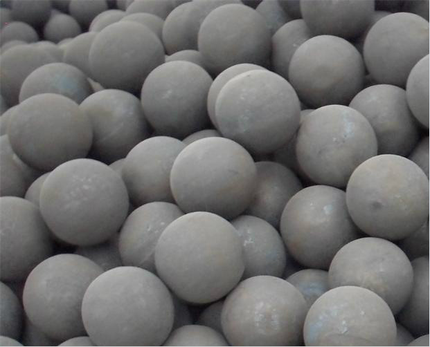 high hardness forged steel grinding media steel balls