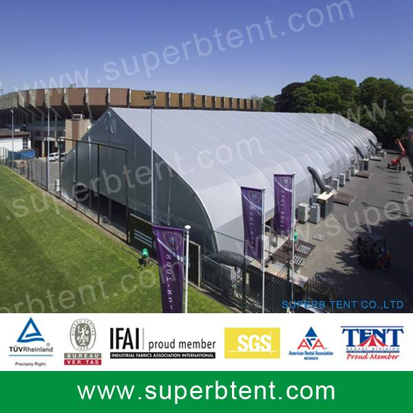 Large Curve Outdoor Event Tents for exhibition purpose