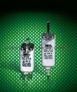 NT Series Square Pipe Fuse Links with Knife Contacts