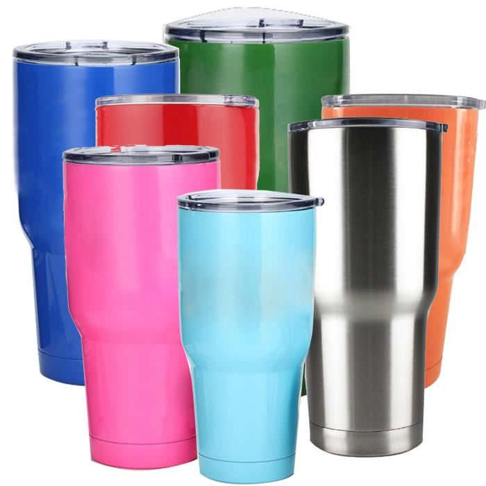 ZC-CO-V Stainless Steel Tumbler Vacuum Insulated To Keep Drinks Ice Cold Up To 24 Hours And Piping
