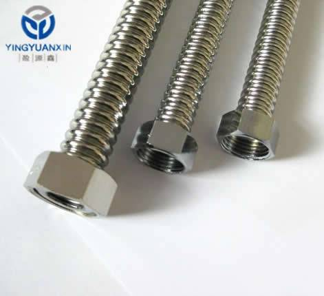 Corrugated SS Tubes
