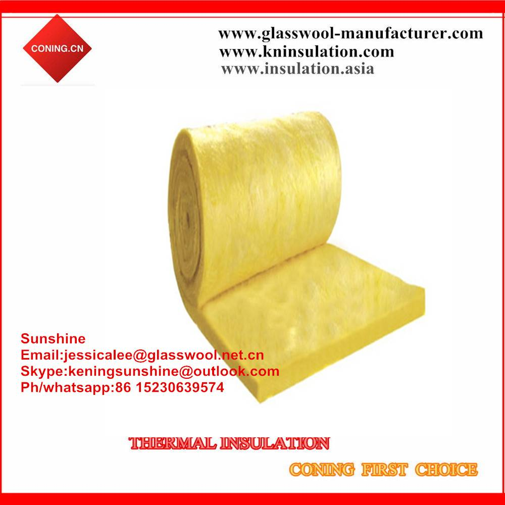 Thermal insulation fiberglass wool/glass wool blanket insulation