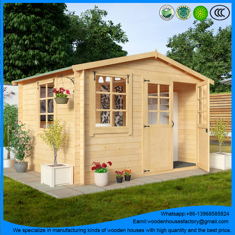 Hot sale for prefab log cabin/small wood house/outdoor timber home with the best price
