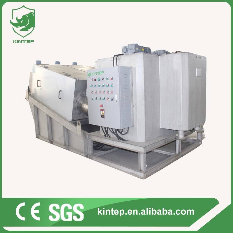 industrial sewage treatment dewatering equipment
