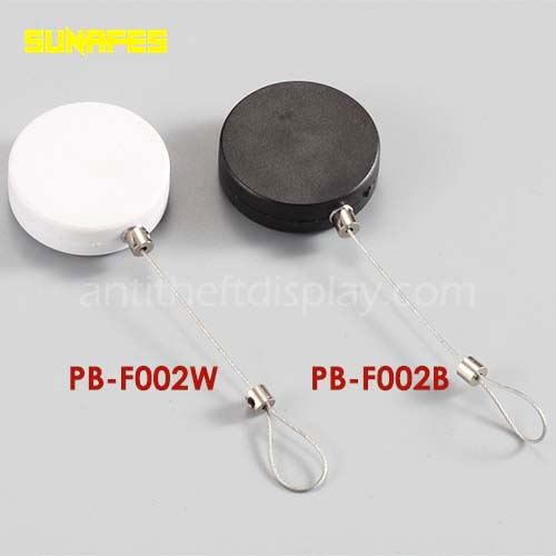 Anti Theft Retractable Pull Box / Secure Pull Lanyard For Retail Product Positioning