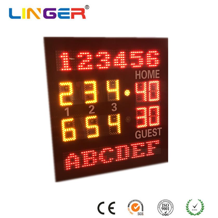 Outdoor Steel Frame Tennis Scoreboard for Stadium