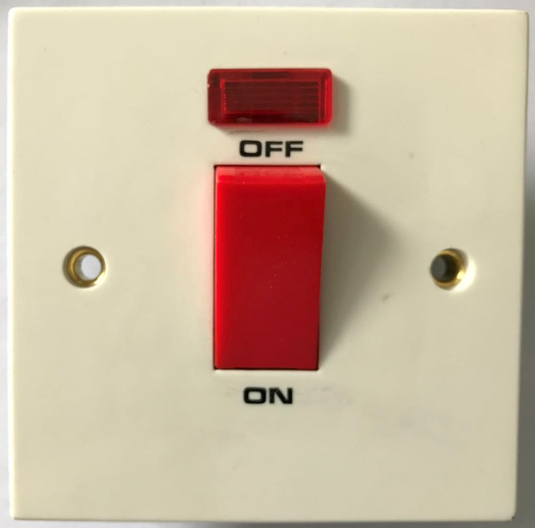 (SE) 45A switched socket with neon