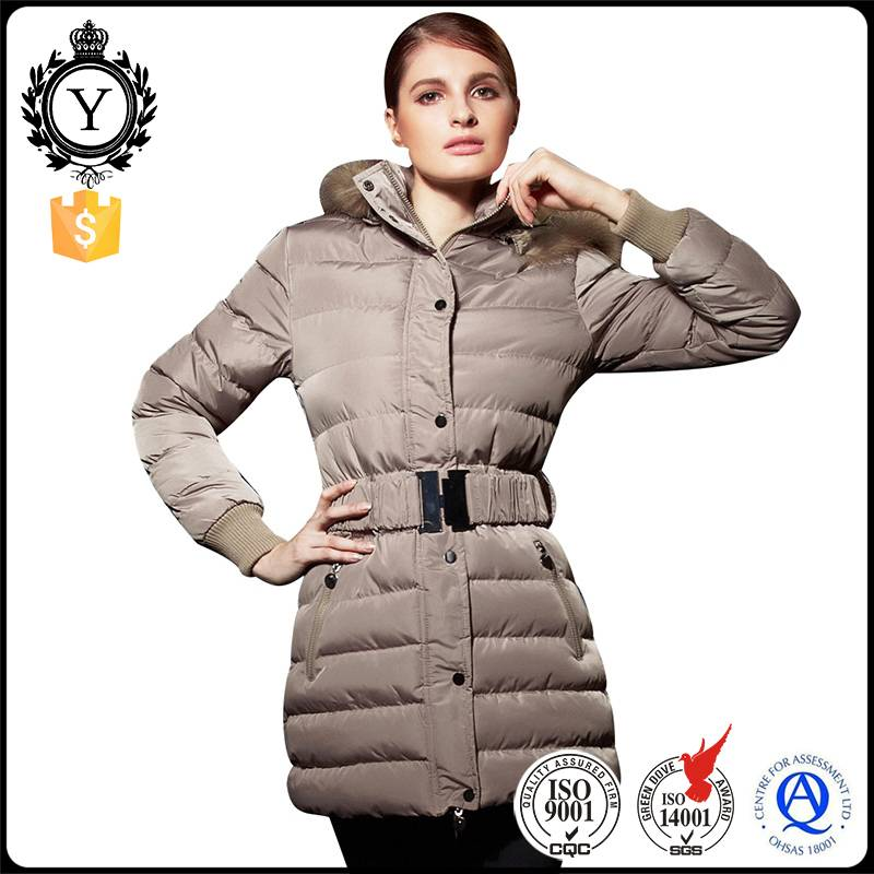COUTUDI fancy custom windbreaker wind resistant water repellent winter fur parka jacket for women