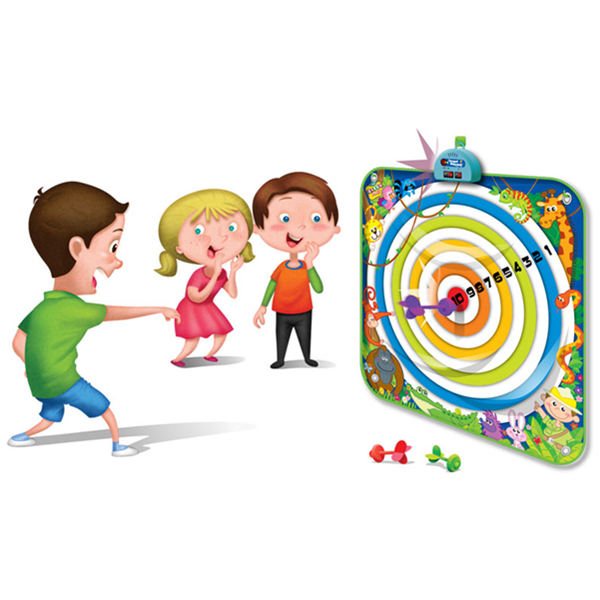 Dart Board Playmat Kids Target Playmat Sunlin Electronic Playmat