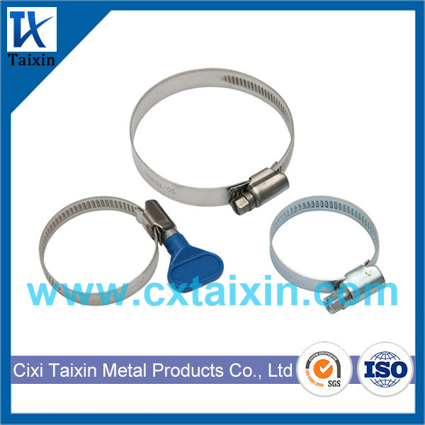 Germany type hose clamp / British / American / European / T-bolt / V band/ Stainless Steel Hose Clam