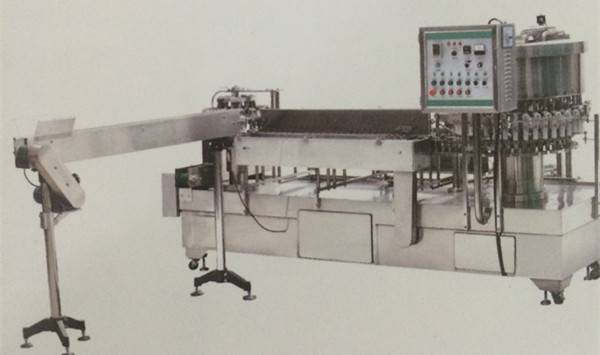 QCFR-40-automatic vacuum filling and sealing machine