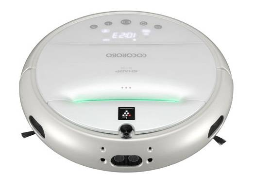 SHARP Cocorobo RX-V100-W Robotic vacuum cleaner