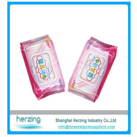2016 Alcohol free hypoallergenic wholesale baby wipes