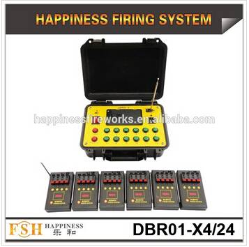 500 M Remote control fireworks firing system,4 cues pyrotechnic fire System, fireworks system(DBR01-