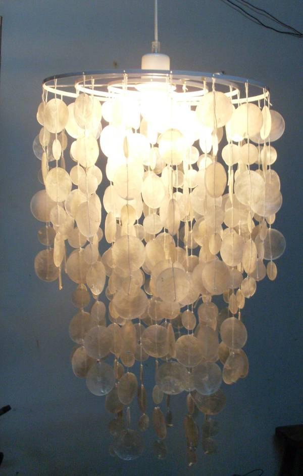 Sea Shell chandeliers / Home Decor / capiz shell chandelier modern / shell chandeliers