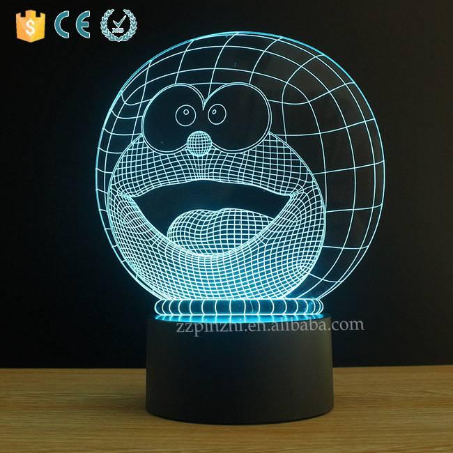 NL30 3D patent cool cartoon lamp