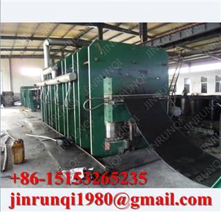 Textile core conveyor belt line