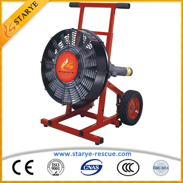 Fire Rescue Firefighting Equipment Ventilating Water Drive Smoke Ventilator