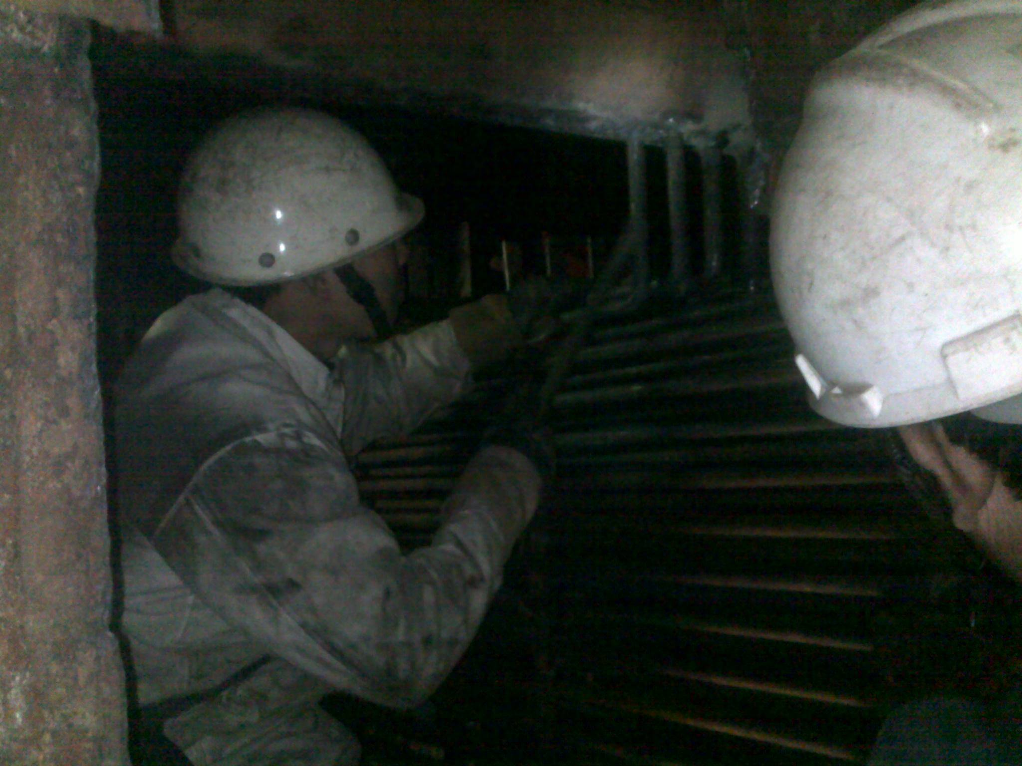 Boiler tubes replacing and supplying
