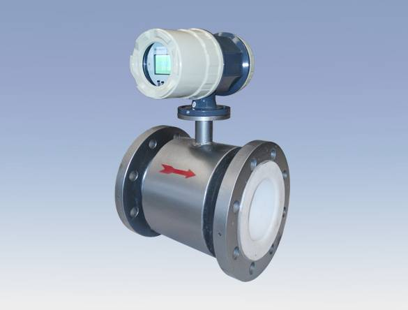 Flanged Type Rubber and PTFE Lining Electromagnetic Flow Meter for Water Treatment