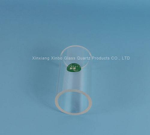 clear quartz glass tube