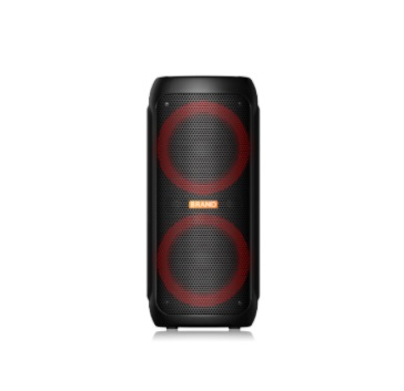 New hot Dual 8 Inch led colorful light Speaker with bluetooths