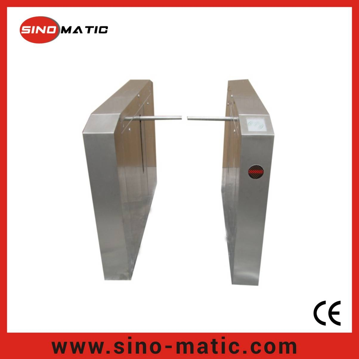 304 Stainless Steel Security Access Control System Drop Arm Barrier