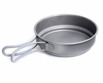 Outdoor cookware Titanium Lid for Bowl KP601