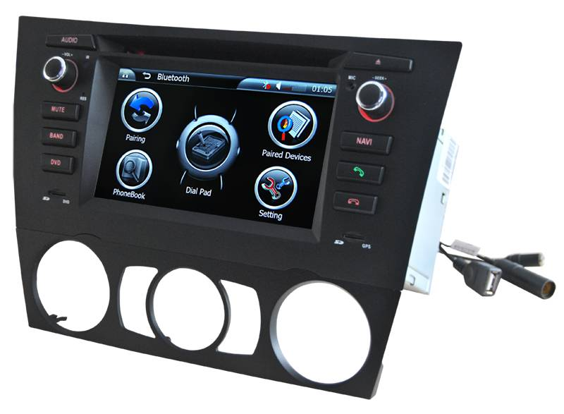 2 Din Touch Screen Car DVD Player GPS Navigation for BMW 3 Series,E3031