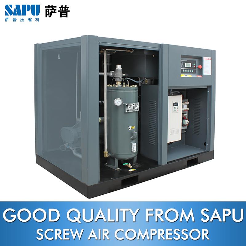 SAPU screw air compressor rotary piston 7.5KW