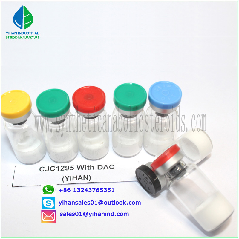 Hot Effective Muscle Peptide Cjc 1295 with Dac 2mg Vial for Steroid Bodybuilder Judy
