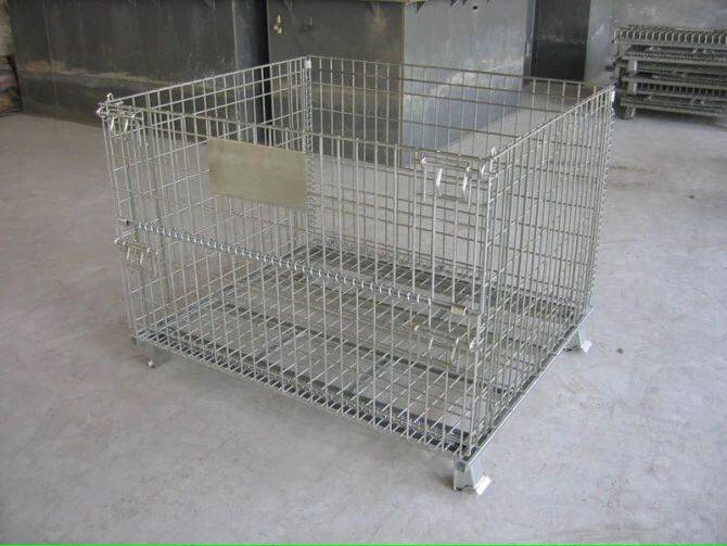 Foldable Logisitc  Storage  Roll Container, Roll cage