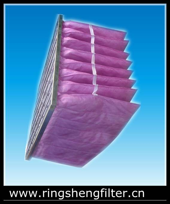 pocket air filter with various color available