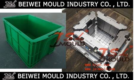 Custom design injection plastic crate mould
