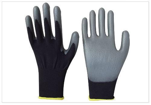 nylon glove coated PU