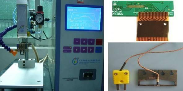 hot bar reflow soldering machine