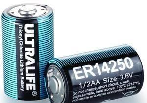 ER14250 LiSOCL2 battery