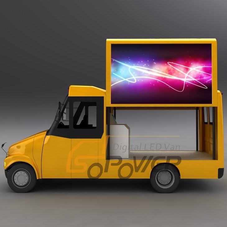 SoPower Video Display Function LED Mobile Truck for Sale