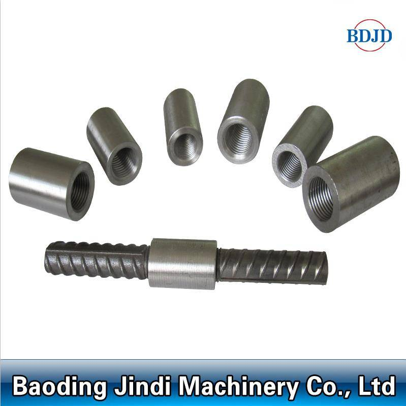 rebar connecting couplers parallel thread steel rebar coupler competitive price