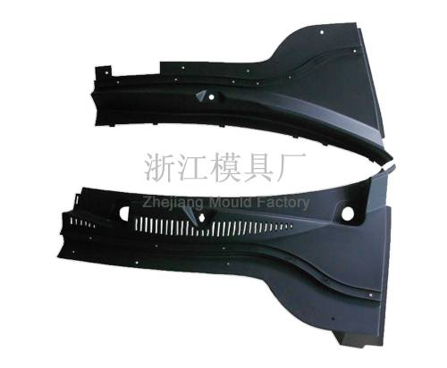 A3 around windshield intake grille molds
