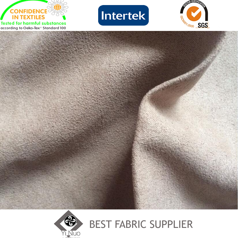 Polyester Woven Suede Fabric Shoe Fabric
