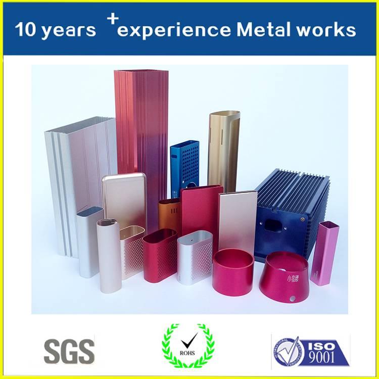 OEM Custom Design Free Sample Wholesale Aluminum Extrusion Enclosure